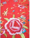 Pico de mantón de manila bordado a máquina